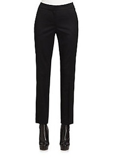 St. John Venetian Slim Stretch Pants