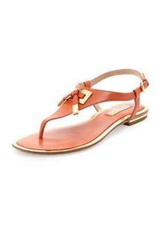 Michael Kors Hara Bow-Detail Thong Sandal