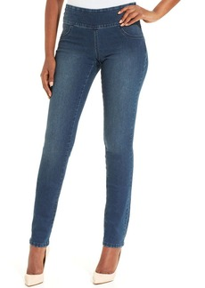 Style&co. Petite Jeans, Curvy-Fit Pull-On Jeggings, Galaxy Wash