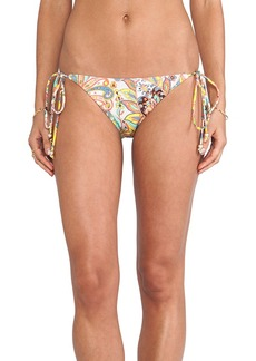 Shoshanna String Bikini Bottom in Yellow