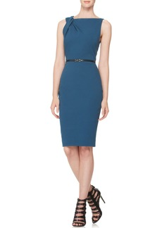 Jason Wu Twist-Shoulder Sheath Dress