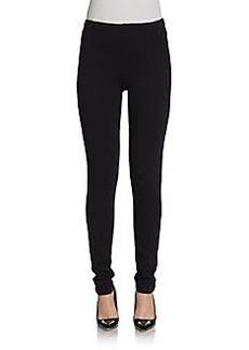 Saks Fifth Avenue BLACK Front-Seam Leggings