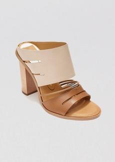 Dolce Vita Open Toe Slide Sandals - Odea High Heel