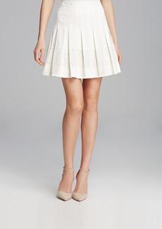 Rebecca Taylor Skirt - Laser-Cut Poplin