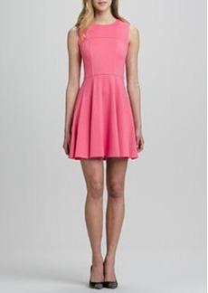 Nanette Lepore Superslide Fit-and-Flare Dress, Tulip