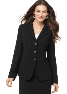 Jones New York Petite Blazer, Devon Notched Lapel Triple Button