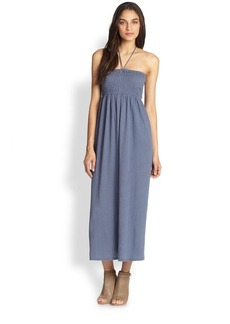 Soft Joie Acadia Halter Linen & Cotton Maxi Dress