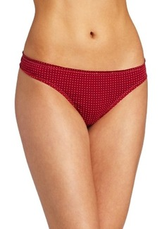 Tommy Hilfiger Women's Ruched Thong Panty