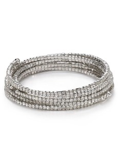 ABS by Allen Schwartz Modern Pave Bracelets, Set of 7