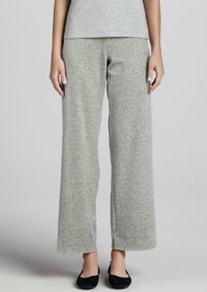 Joan Vass Heather Velour Pants
