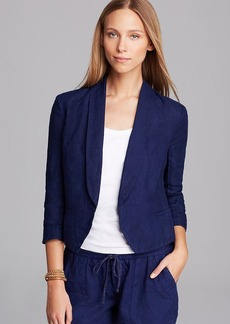 Three Dots Cropped Jacket