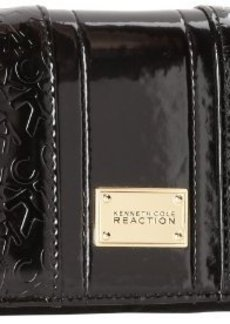 Kenneth Cole Reaction Dress To Impress-Flap Clutch Wallet,Black,One Size