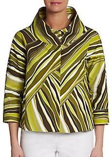 Lafayette 148 New York Giselle Printed Jacket