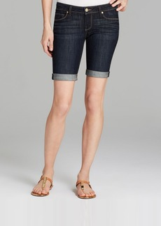 Paige Denim Shorts - Jax Knee in Dean