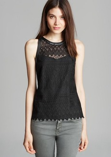 Nanette Lepore Top - Take A Trip Lace