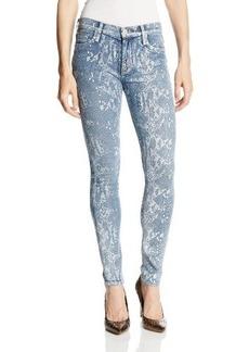 Hudson Jeans Women's Nico Skinny Snake Jean