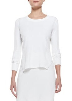 J Brand Ready to Wear Ellen Side-Slit Knit Sweater