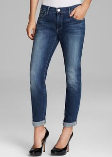 True Religion Jeans - Audrey Relaxed Crop in Shasta Rock Clean