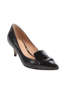 Sigerson Morrison black 'Pacifico' point toe mid-heel pumps