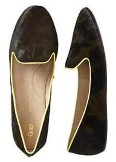 Calf hair loafers