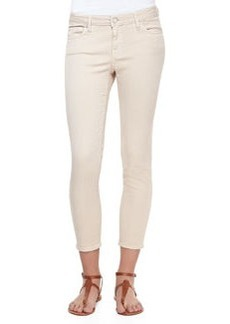 Joie Stretch-Denim Cropped Skinny Jeans