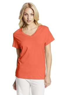 Hue Sleepwear Women's Short Sleeve V-Neck Tee