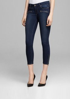 Paige Denim Jeans - Transcend Jane Zip Crop in Nottingham