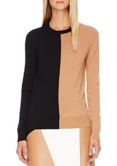 Michael Kors Colorblock Wool Sweater
