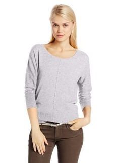 Calvin Klein Jeans Women's Solid Merino Dolman Sleeve Sweater