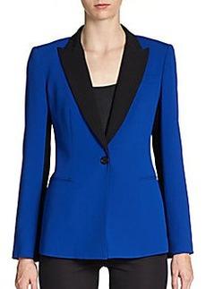 DKNY Long-Sleeve Colorblock Blazer
