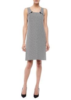 Michael Kors Check Jacquard Mod Shift Dress