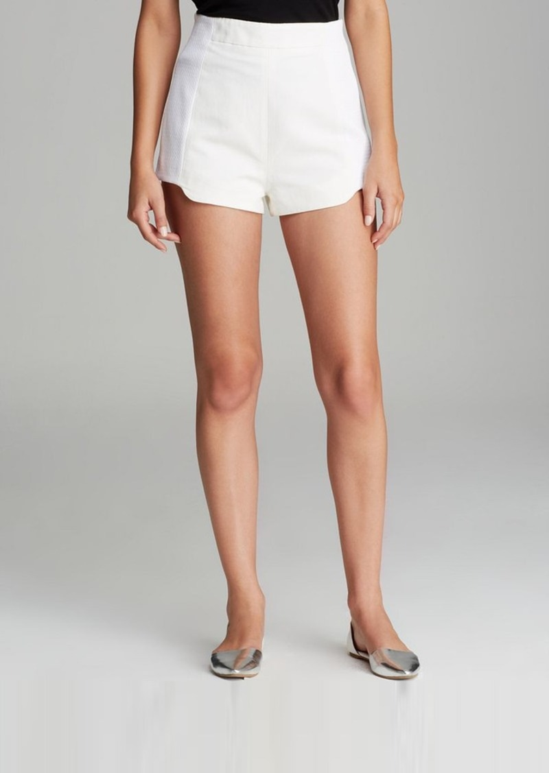 FRENCH CONNECTION Shorts - Fast Jules Jacquard
