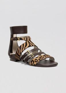 MICHAEL Michael Kors Flats Sandals - Winston Exotic Print