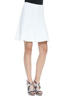 Nanette Lepore Love Chase A-Line Pique Skirt