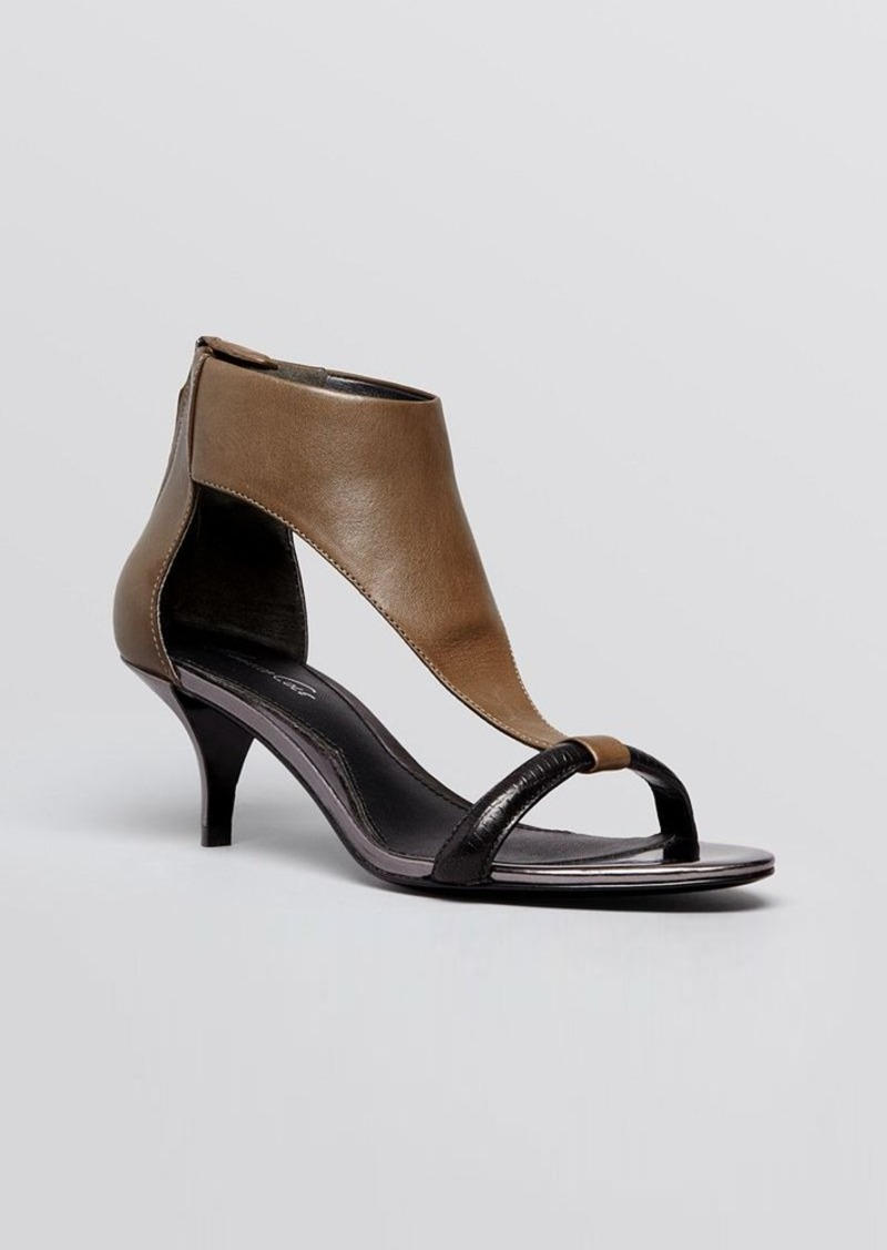 Kenneth Cole Open Toe Sandals - Havemeyer Kitten Heel