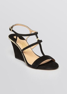 Salvatore Ferragamo Open Toe Wedge Sandals - Pakuna