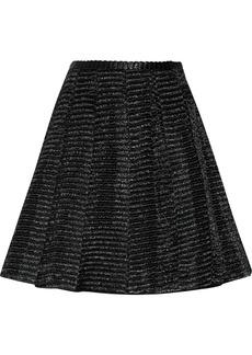 Jill Stuart Viktoria raffia-effect skirt
