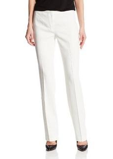 Elie Tahari Women's Theora Linen Straight Pant