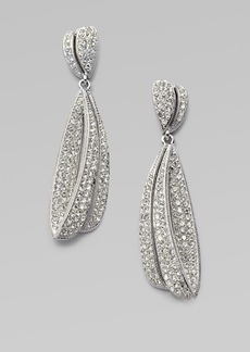 Adriana Orsini Crested Waves Drop Earrings