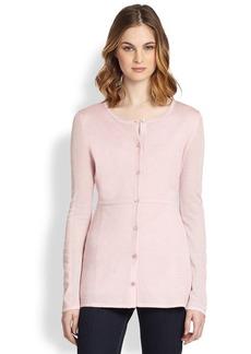 Saks Fifth Avenue Collection Multi-Knit Silk/Cashmere Cardigan