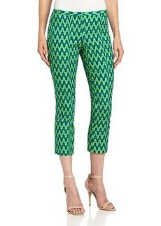ELIE TAHARI Women's Sydney Tile Printed Pant