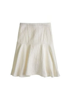 Collection raffia shells skirt