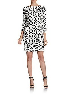 Diane von Furstenberg Ruri Printed Shift Dress