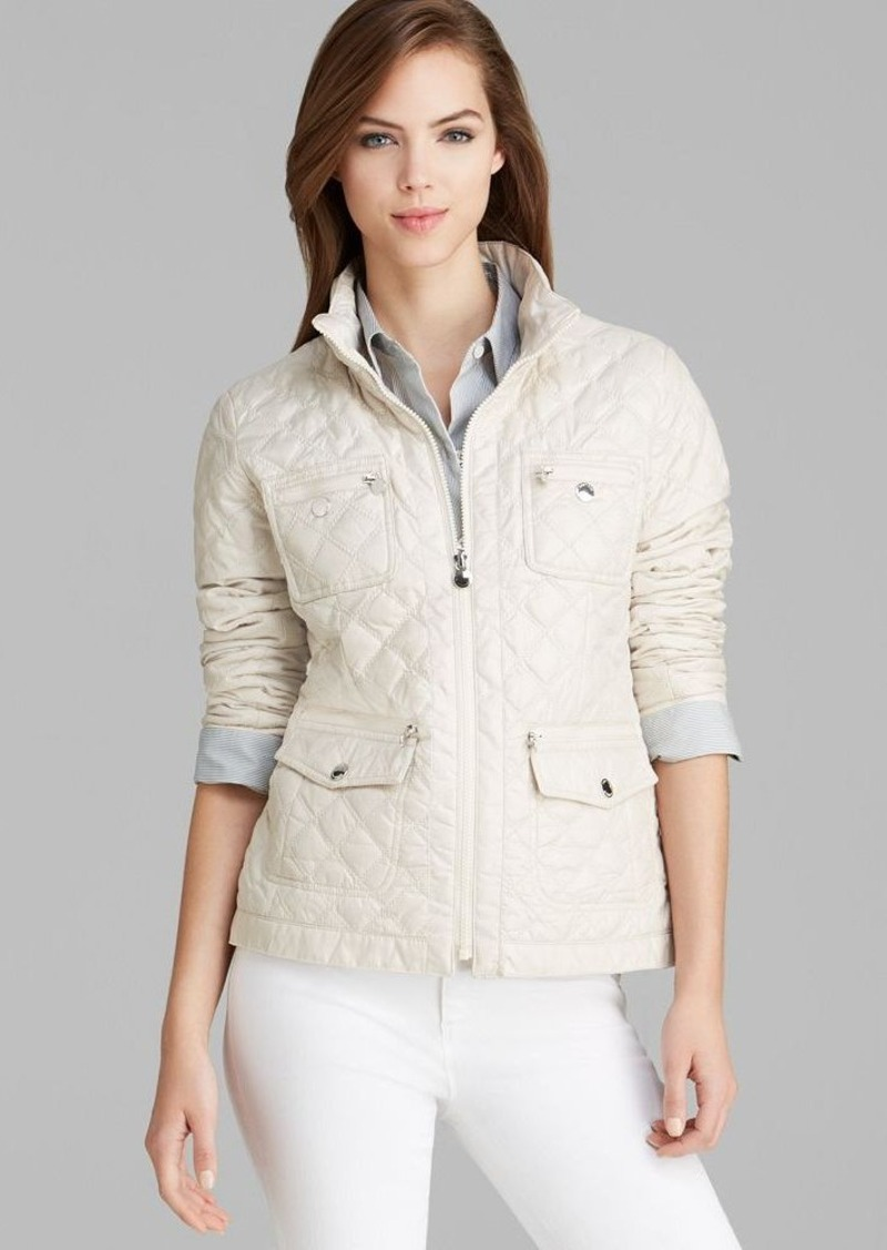 Laundry by Shelli Segal Jacket - Solid Mini Quilt Packable