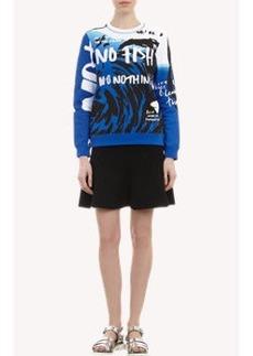 Kenzo Embroidered Text Sweatshirt