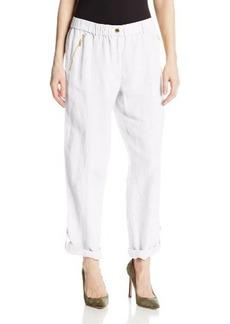 Calvin Klein Women's Tab Cuff Pant