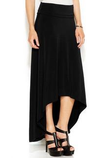 MICHAEL Michael Kors Petite Knit High-Low Maxi Skirt
