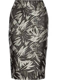 Jason Wu Jacquard-knit pencil skirt