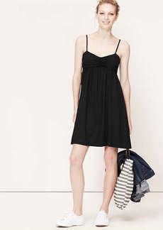 Petite Ruched Cami Dress