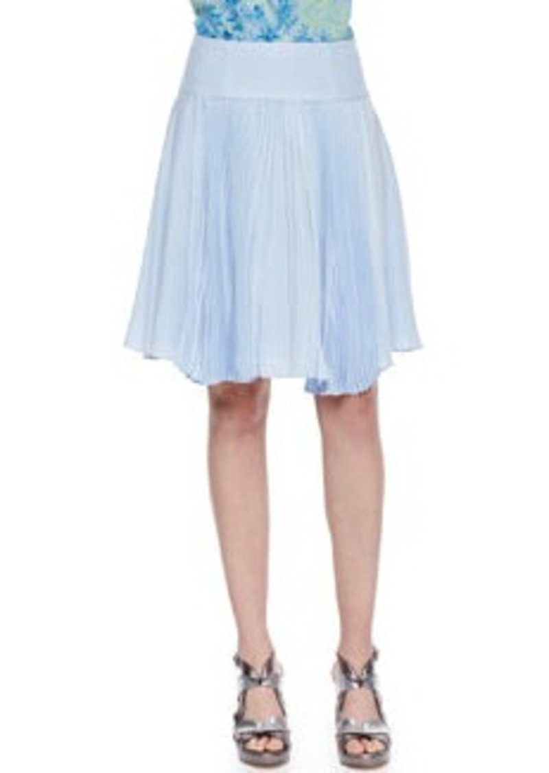 Nanette Lepore Sunny Day Pleated Chiffon Skirt